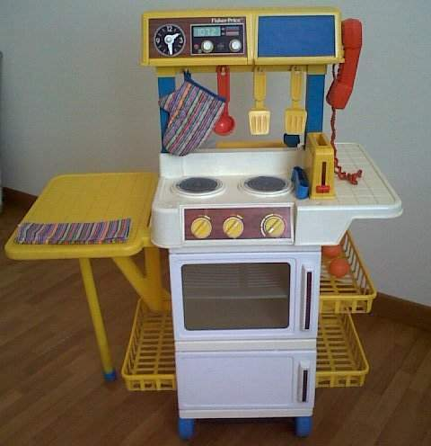 Cucina Fisher Price vintage
