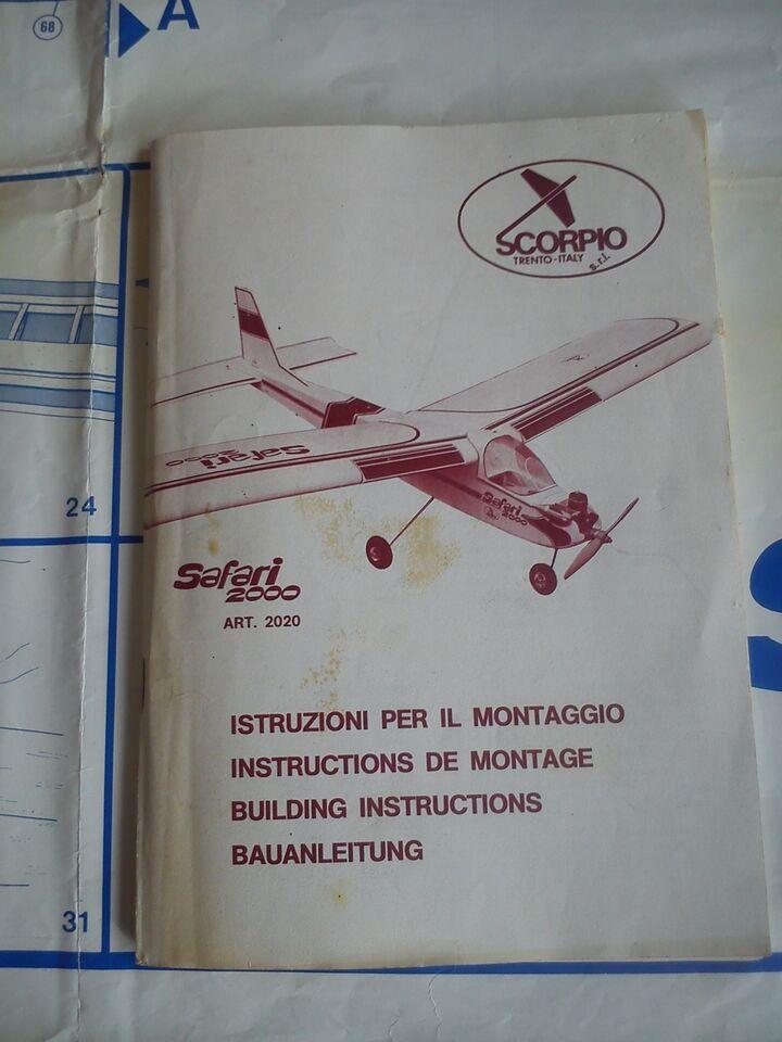 Disegni esecutivi aeromodello