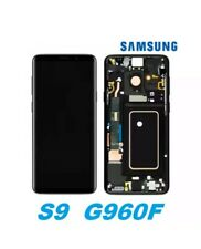 Display completo Samsung S9 G960 nero ORIGINALE NUOVO