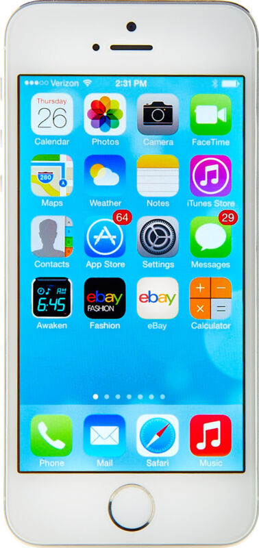Apple  iPhone 5s - 16 GB - Silver - Smartphone