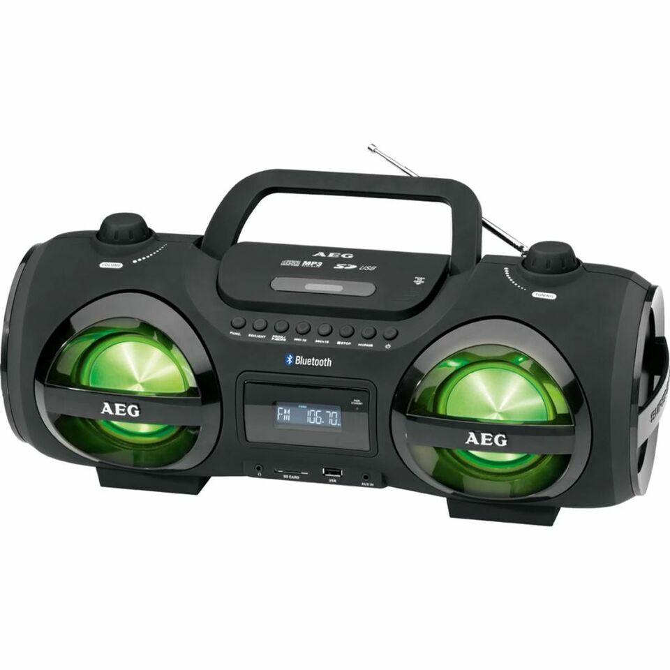 AEG Radio stereo boombox nero SR 4359 BT 4