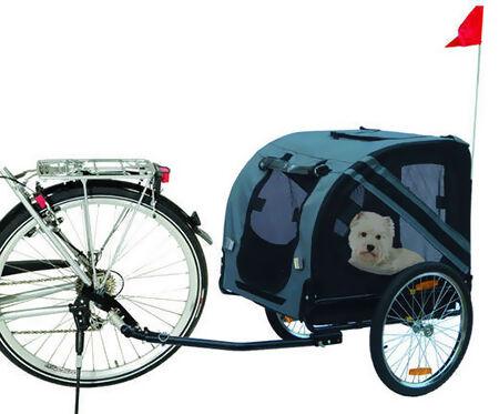 Hund und Drahtesel? Mit Fahrradkörben und -anhängern kein Problem!