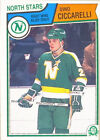 Serial Numbered Dino Ciccarelli Hockey Trading Cards