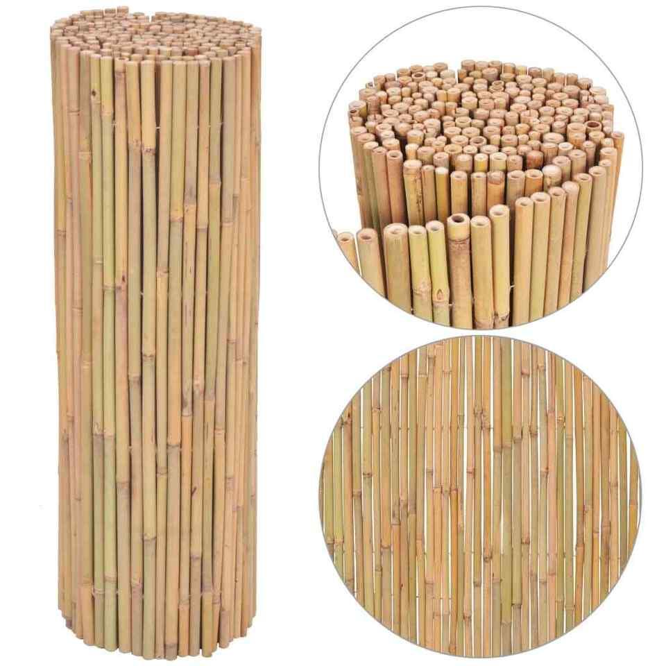 Recinzione in Bambù 300x100 cm 4