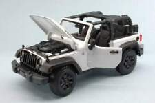 Maisto MI31610W JEEP WRANGLER OPEN TOP 2014 WHITE 1:18
