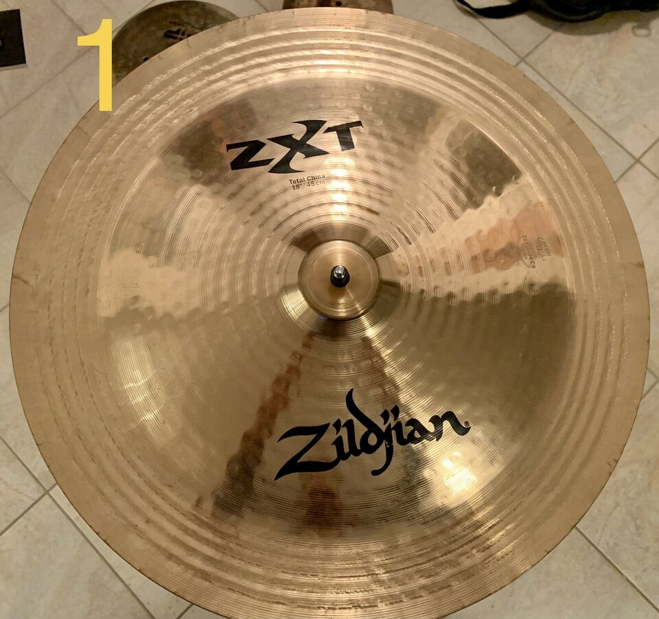Vendo piatti UFIP e ZILDJIAN ride , china e splash