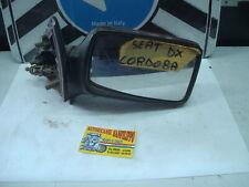 Specchietto specchio retrovisore seat cordoba destro rosso