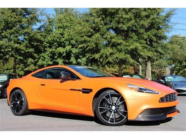 Vanquish, Cayucos Orange, Matte, V12, 565 Horsepower ...