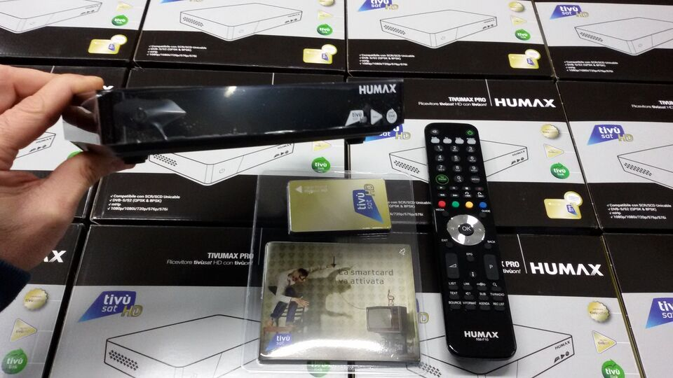 New decoder tivusat 2 humax 2021