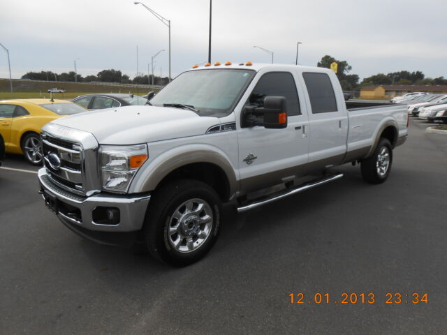2013 ford super duty f 350 srw 4x4 crew cab diesel used ford f 350 for sale in lake wales. Black Bedroom Furniture Sets. Home Design Ideas