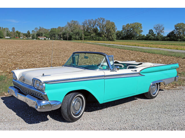 1959 ford fairlane 500 sunliner convertible used ford fairlane for sale in saint charles. Black Bedroom Furniture Sets. Home Design Ideas