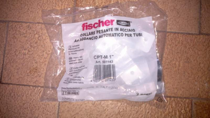 Collari Fisher da 1 pollice