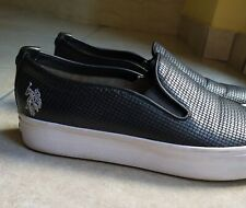 Slip on donna nere Us Polo Assn n 38