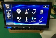 Alpine ics-x8 monitor 8 pollici dvd mp3 usb bluetooth