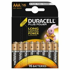 Duracell 16 Pz Batterie Alcaline AAA Plus Power