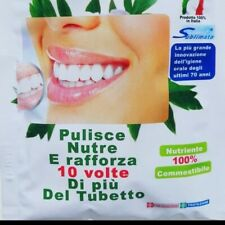 Incaricati alle vendite innovativo dentifricio in polvere