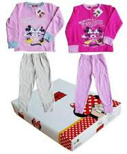 DISNEY. Pigiama Bimba in Felpa garzata MINNIE MOUSE 6968C.