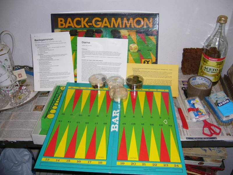Backgammon/Dama