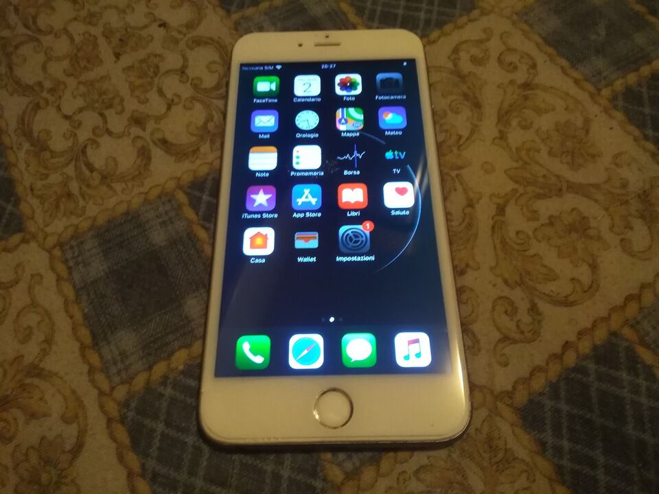Apple iPhone 6 Plus A1524 Silver