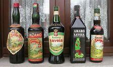 Bottiglie da collezione, perfettamente sigillate ed integre.