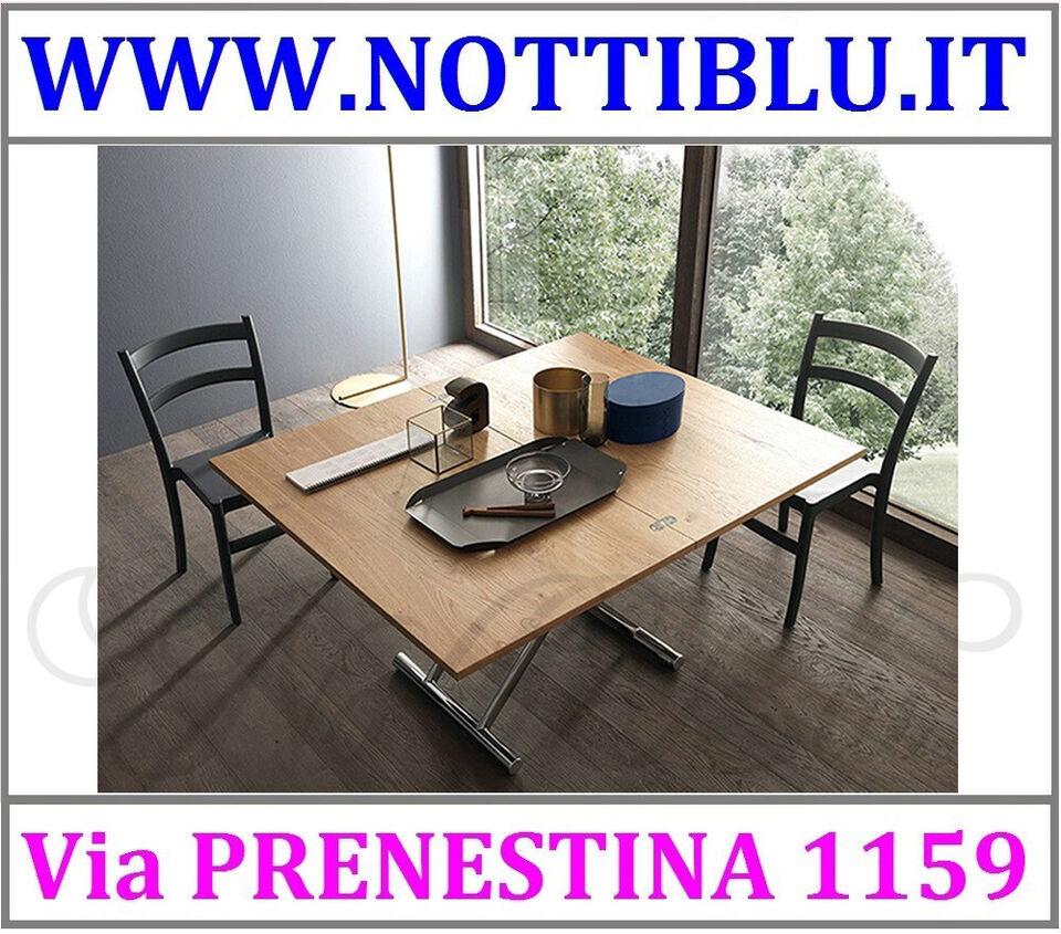 Tavolini Trasformabili Roma_ Tavolino Raddoppiabile UNIVERSE/A15 2