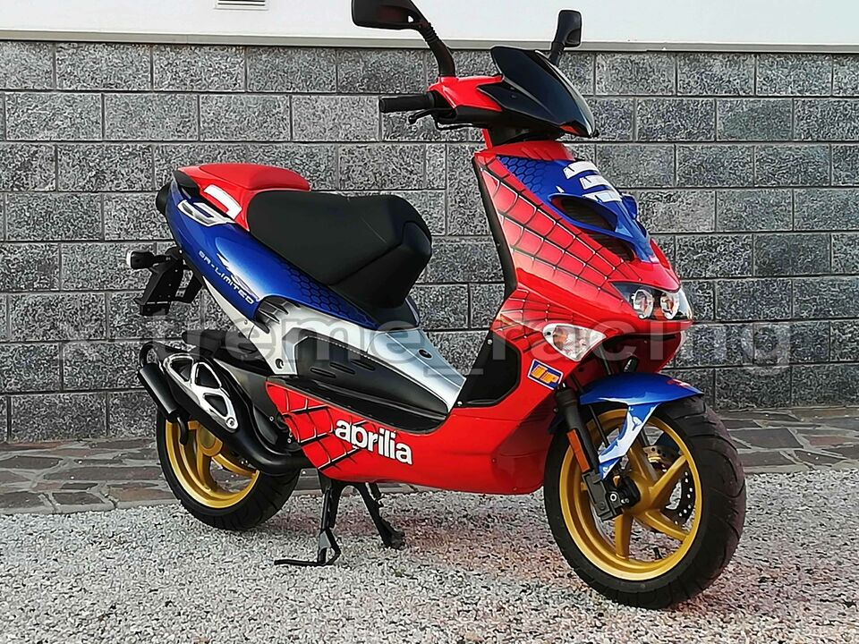 Aprilia SR LIMITED replica SPIDERMAN - 2003 4