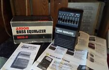 Arion bass equalizer meq-2 japan pedale equalizzatore basso