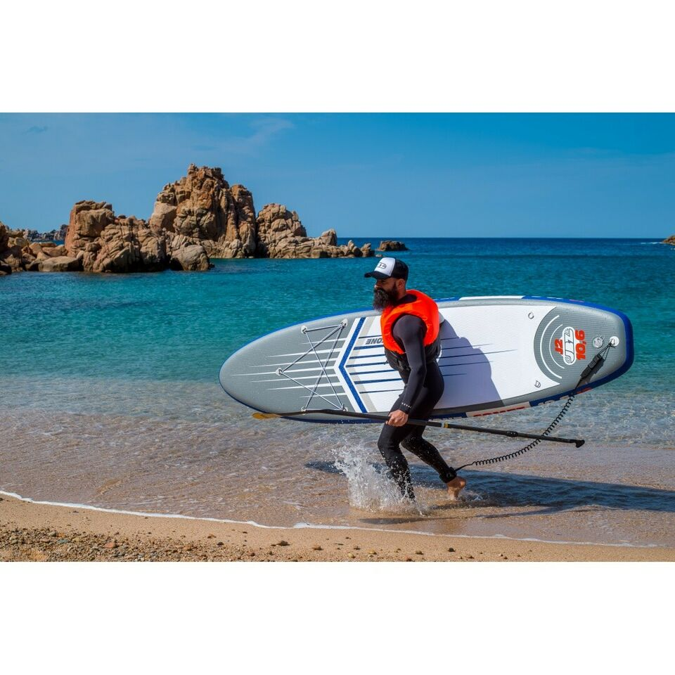 Stand Up Paddle SUP Gonfiabile JBAY.ZONE COMET J2 10'6'' 6