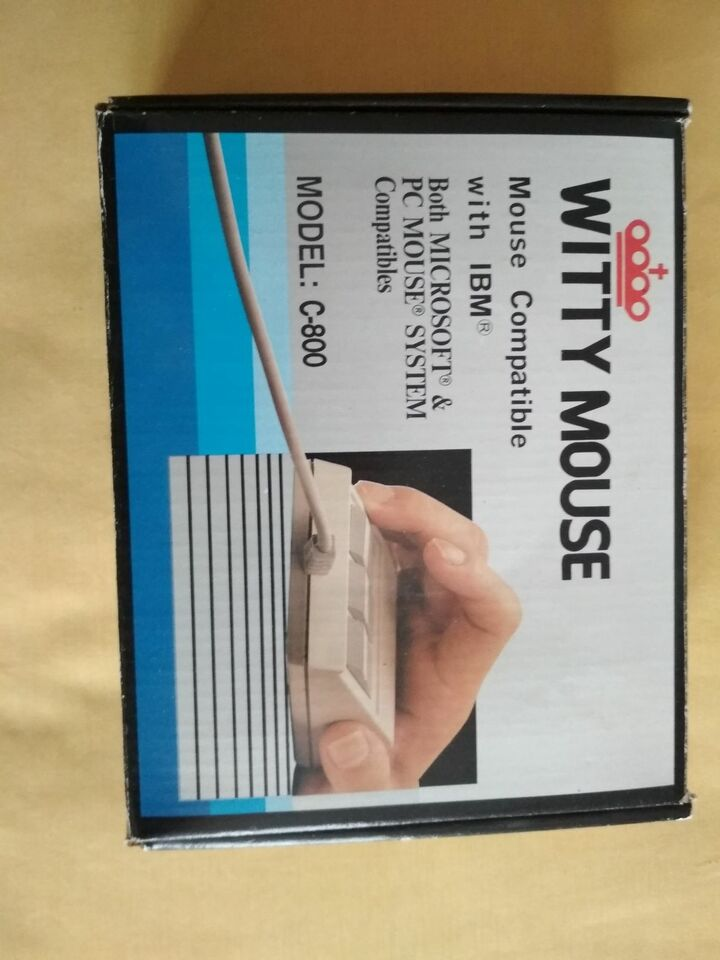 Witty Mouse storia computer