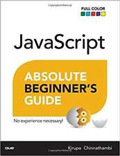 Javascript Absolute Beginner Guide