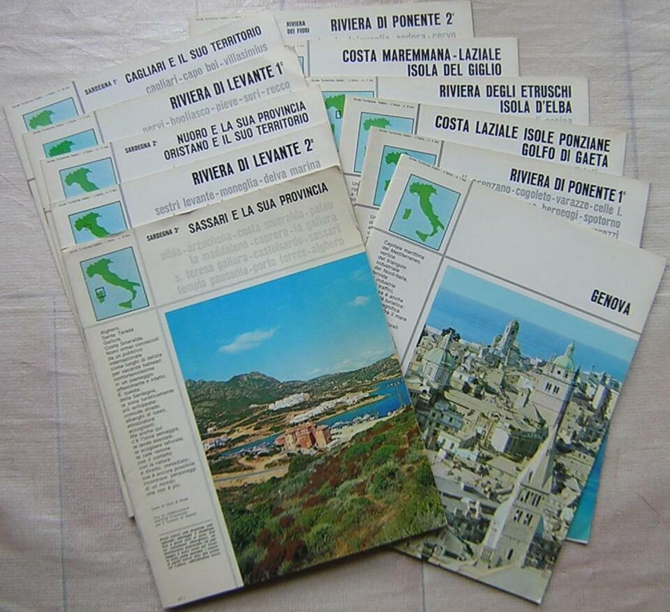 L'Italia 12 guide turistiche Fratelli Fabbri...