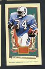 Panini Earl Campbell Football Trading Cards
