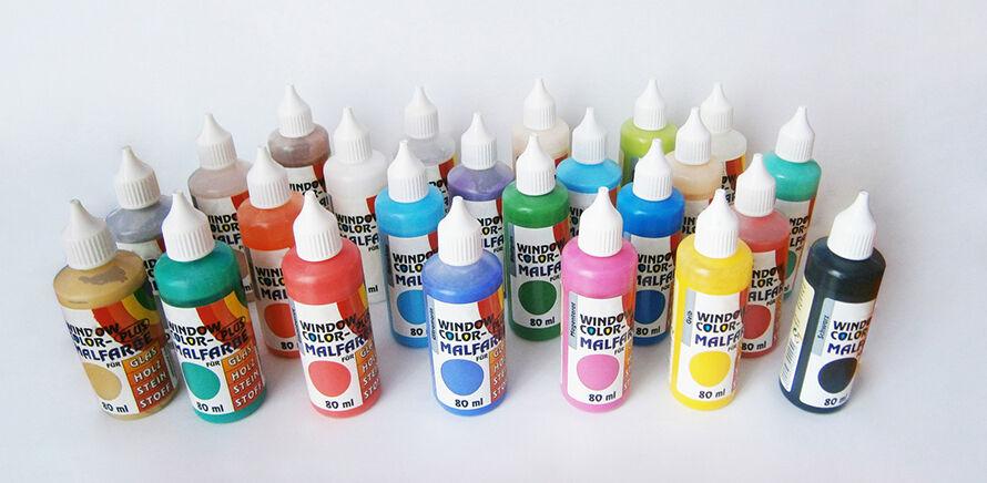 Farben für Window Color - Einkaufsratgeber