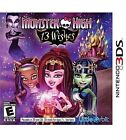 Monster High: 13 Wishes Nintendo Video Games