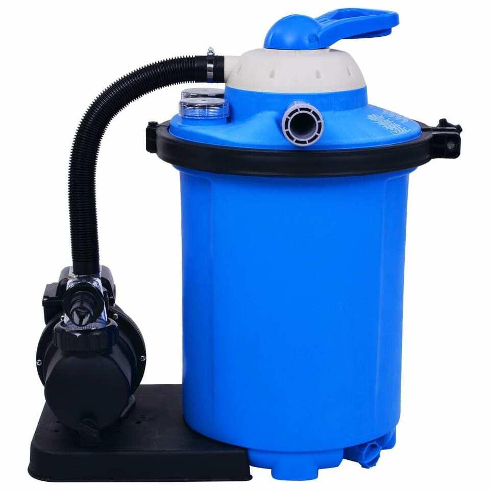 Pompa con Filtro a Sabbia con Timer 550 W 50 L 4