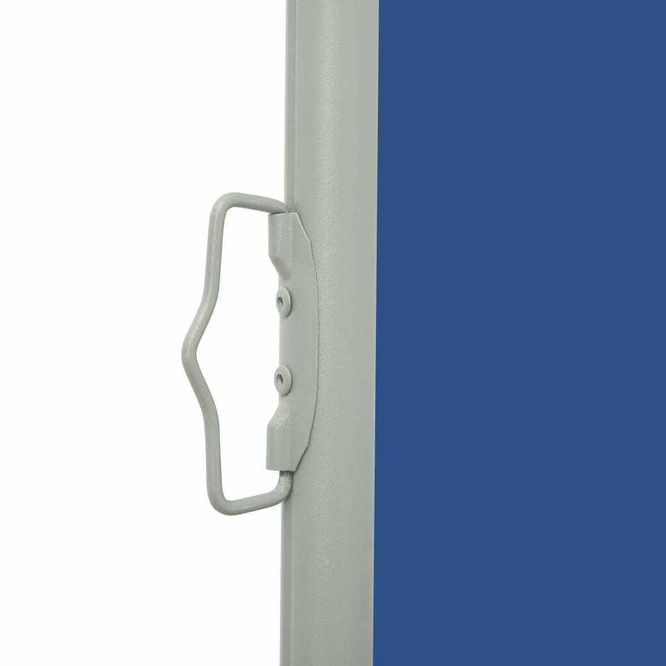 Tenda Laterale Retrattile per Patio 100x300 cm Blu 4