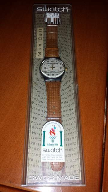 Swatch melody by Philip Glass