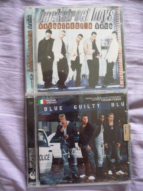 Cd blue+backsterrt boys originali