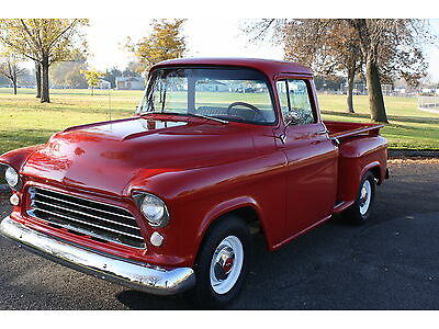 1955 Chevy Truck 327 Muncie 4 Speed Frame Off Restoration on