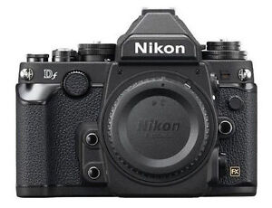 Nikon Df 16.2 MP Digital SLR Camera - Bl...