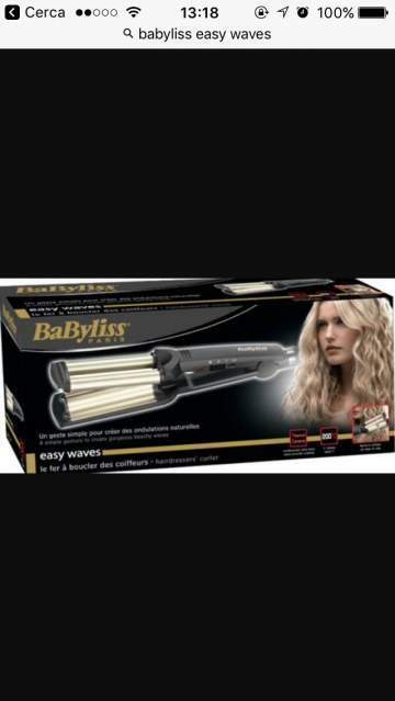 Piastra babyliss easy waves