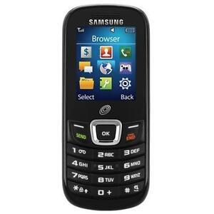 Samsung SGH S150G - Black (TracFone) Cellular Phone - 3G
