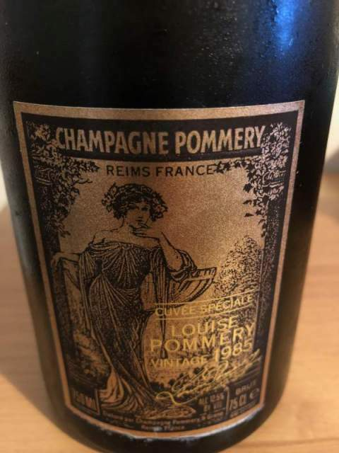 Champagne cuvee speciale Louise Pommery vintage 1985 7