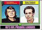 Ken Stabler Single Football Trading Cards