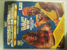 Wwf superstars euroflash sticker album 1991