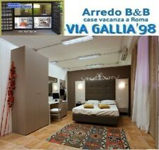 "Arredo hotel a roma- CAMERA ""ROMA 2""- BED BREAKFAST "" B&B"