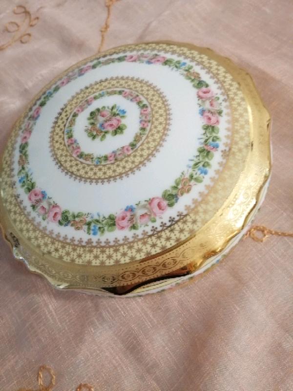Portagioie in porcellana limonges 5
