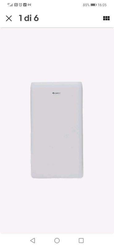 Climatizzatore portatile Gree Over 12000 13000 btu wifi pompa di calor