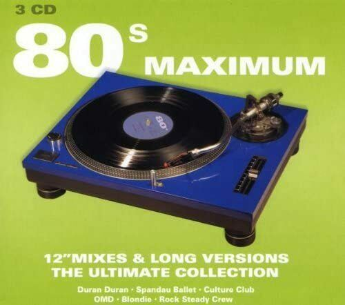 Maximum compilation collection 80/90s 9 cd box...