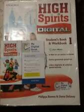 Libro scolastico 1a media inglese high spirits digital 1